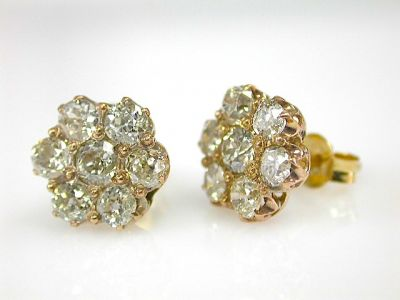 Diamond Earrings CFA131102a