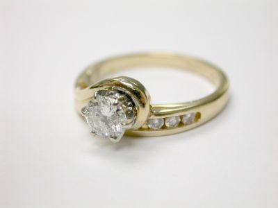 Diamond Engagement Ring CFA140519