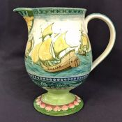 Doulton Burslem Galleon Series Ware Jug