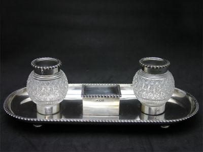 Early Birmingham Inkwell 1 Cynthia Findlay Antiques