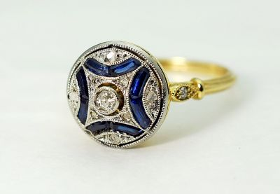 Edwardian-Diamond-and-Sapphire-Ring-AGL82003-85101a