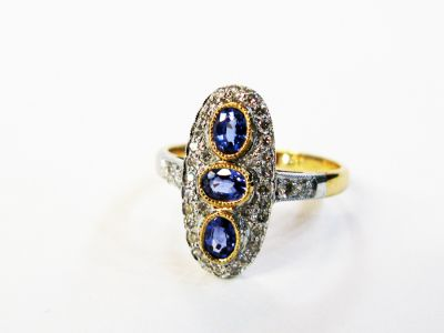 Edwardian-Inspired-Sapphire-and-Diamond-Ring-AGL48557-78570