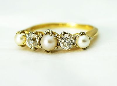 Edwardian-Pearl-and-Diamond-Ring-CFA180492-84864a