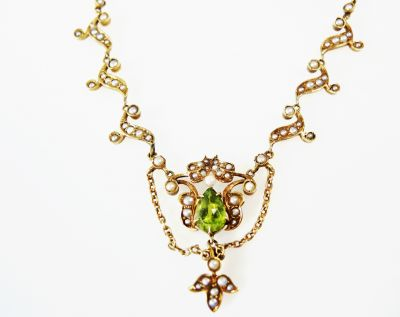 Edwardian-Peridot-and-Pearl-Lariat-Necklace-CFA1612136-83067
