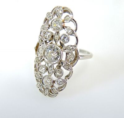 Edwardian Diamond Ring CFA1405203aa