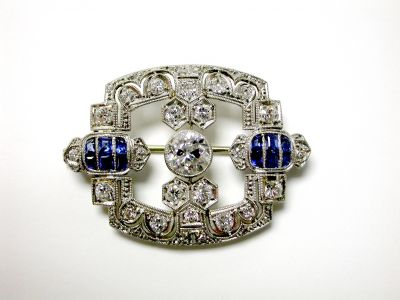 Edwardian Filigree Brooch CFA1404500