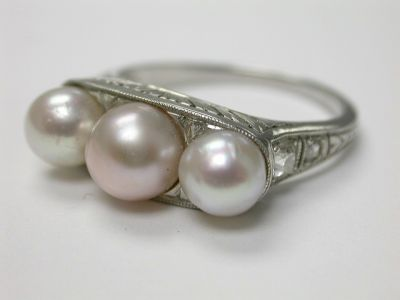Edwardian Pearl Ring CFA140175
