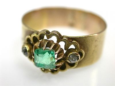 Emerald Ring CFA1305331