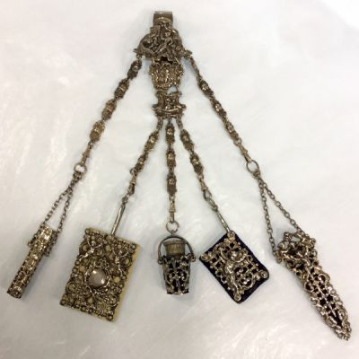English Sterling Chatelaine 7