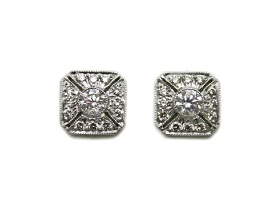 Every-day Diamond Studs 63510 1 Cynthia Findlay Antiques-abb
