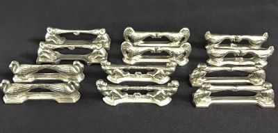 Figural Silver Plate Knife Rests 3