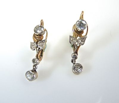 Floral Diamond Earrings CFA140663