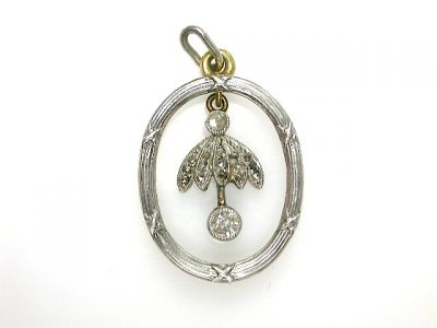 Floral Diamond Pendant CFA130887