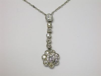 Floral Diamond Pendant CFA140214