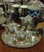 French Art Deco Tea Set & Tray
