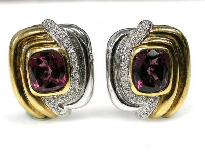 Garnet Earrings Cynthia Findlay Antiques CFA1210155