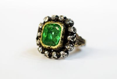 Georgian-Emerald-and-Diamond-Ring-AGL65453-82627