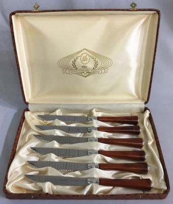 Glo-Hill Cutlery Co. Ltd. Steak Knives