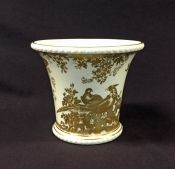 Gold Aves Cache Pot by Royal Crown Derby