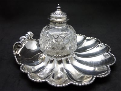 Inkwells 2/Wedding Gift Inkwelll 1 Cynthia Findlay Antiques