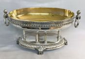 Japanese sterling silver Neoclassical centrepiece bowl