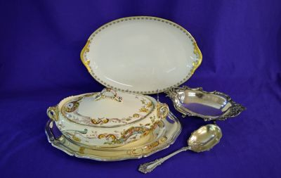 Limoges Oval Tray  C
