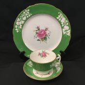 Maritime Rose Green by Spode, Dinner Service for 12
