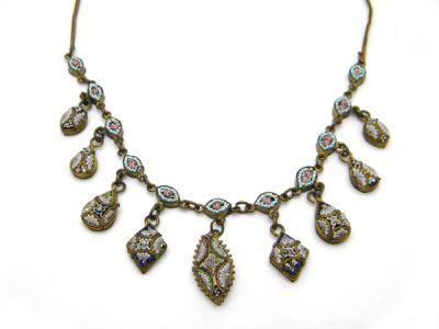 Micro Mosaic Necklace  MmN002 1