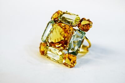 Modern-Citrine-and-Green-Quartz-Ring-CFA161087-82754