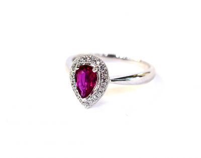 Modern-Pear-Ruby-and-Diamond-Ring-AGL86621-85660aa