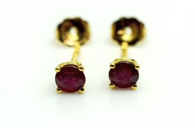 Modern-Ruby-Stud-Earrings-AGL66323-82758a