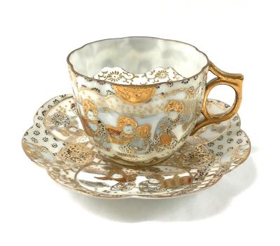 Moustache Cup Nippon Japanese Pattern