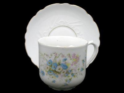 Moustache Cups/Moustache Cup German Extra Large Mug Floral Motif Pattern 3