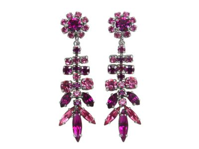 Sherman Earrings Pink drop