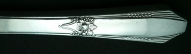 Sterling Silver Flatware - Laurier by Northumbria