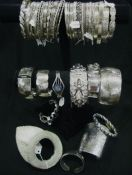Sterling Silver Bracelets, Bangles & Cuff Display