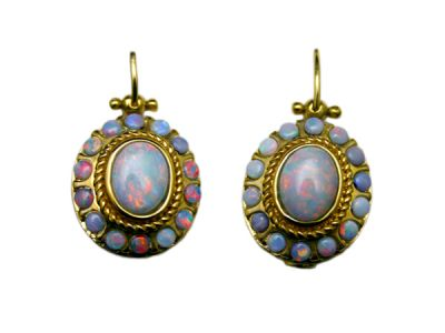 Opal Jewellery/Earrings 14Karat Opal 1