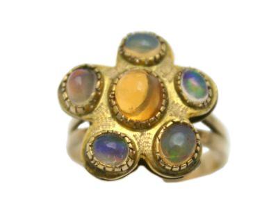 Opal Jewellery/Ring 14Karat Opal 1