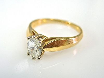 Oval Diamond Solitaire CFA1405116