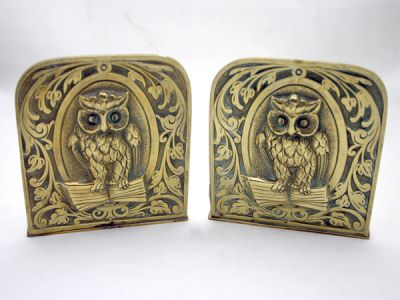 Owl Bookends 1 Cynthia Findlay Antiques