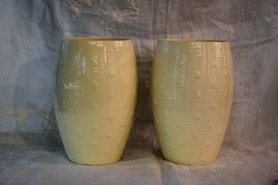 Pair of Spode Cream Vases  1