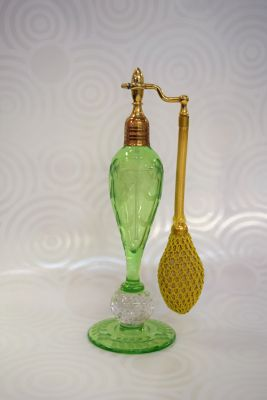 Pairpoint Style Antique Scent Bottle