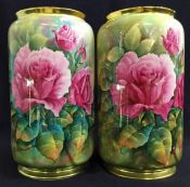 Paragon Hand Painted Vases, by Fred Wright