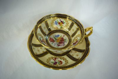 Paragon Reproduction of Service made for Her Majesty Queen Mary Cup and Saucer
