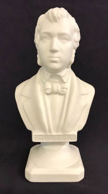 Parian Bust of Frederic Chopin Polish Composer