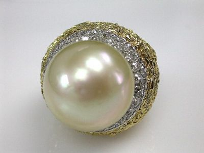 Pearl and Diamond Ring CFA1206183