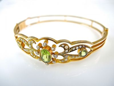 Peridot Bangle CFA1405134