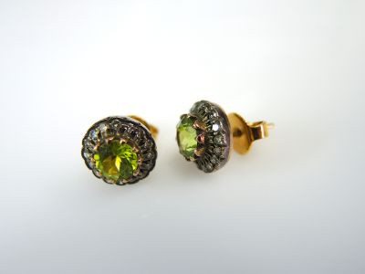 Peridot Earrings CFA1312239