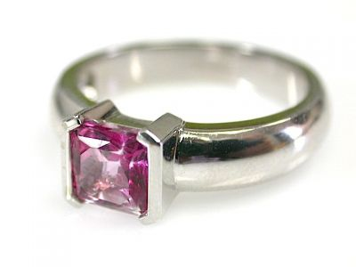 Pink Topaz Solitaire CFA1311204