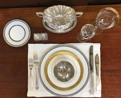 Place Setting From The Comey Rule Mini Series